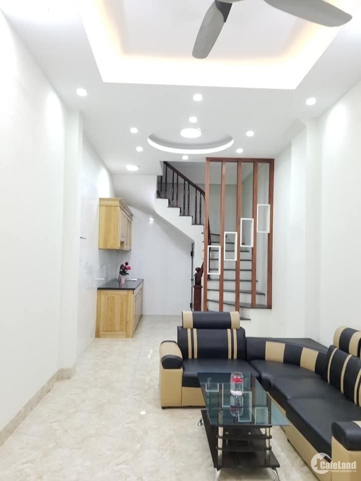Cần bán nhà Cổ Nhuế, Bắc Từ Liêm 32m2x5 tầng mới, ngõ ôtô, 2.95 tỷ.