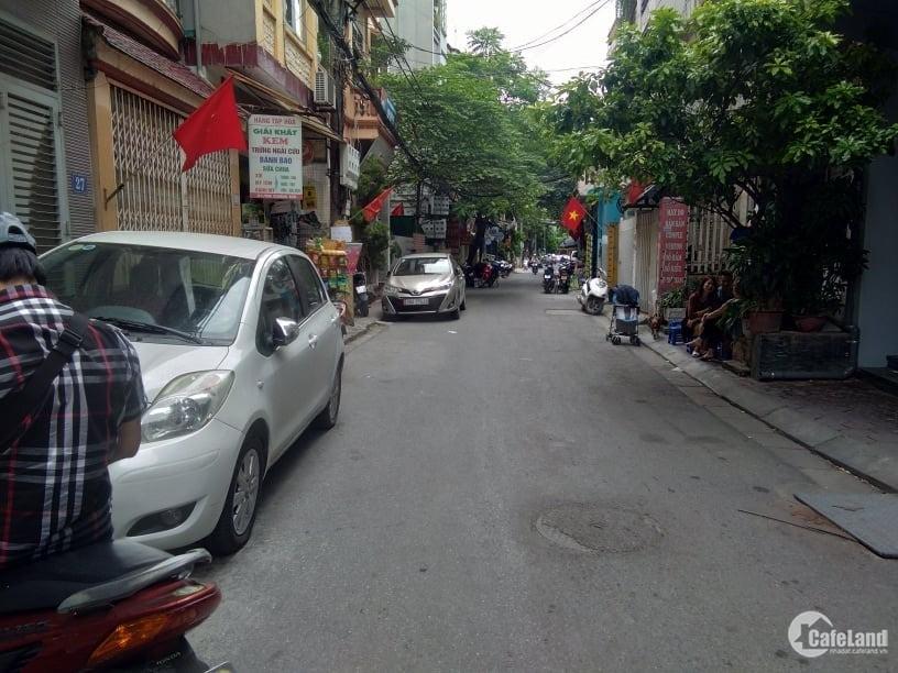 Nhà phân lô Trần Cung, Bắc Từ Liêm, kinh doanh, ôtô đỗ, MT4.8m, 75m2, 5.75 tỷ.