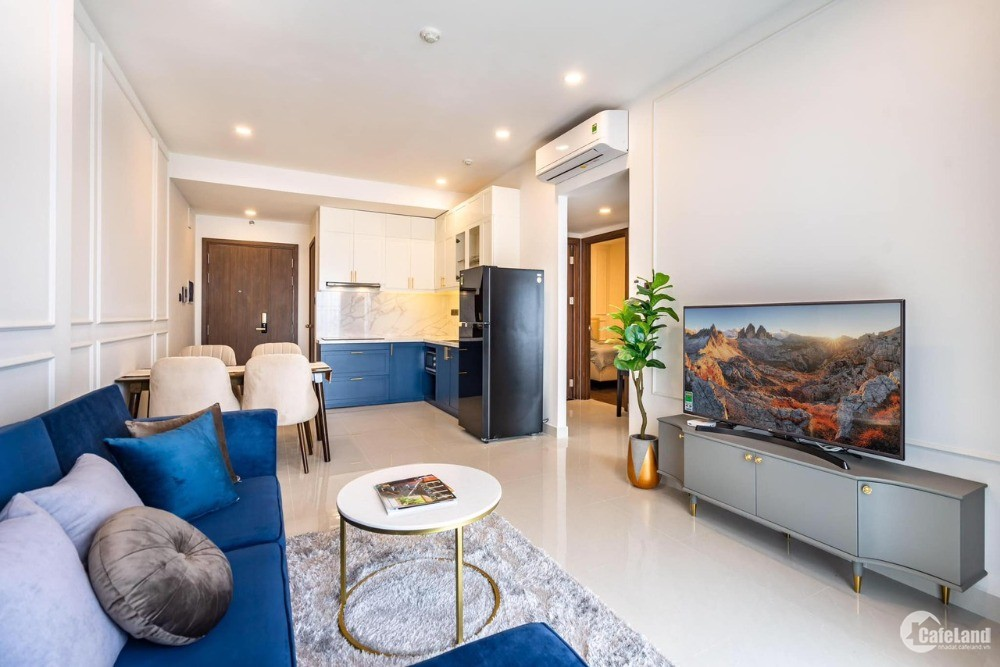 Cần cho thuê gấp chung cư Saigon Royal quận 4, đường Bến Vân Đồn, 2pn giá rẻ cực
