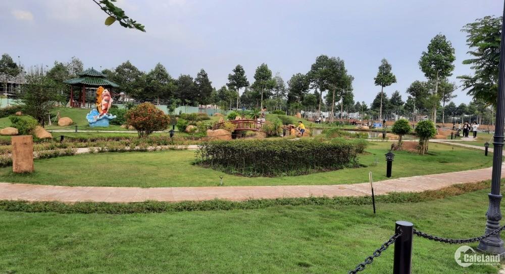 Bán nền đối diện dãy nền biệt thự khu đô thị Stella Mega City