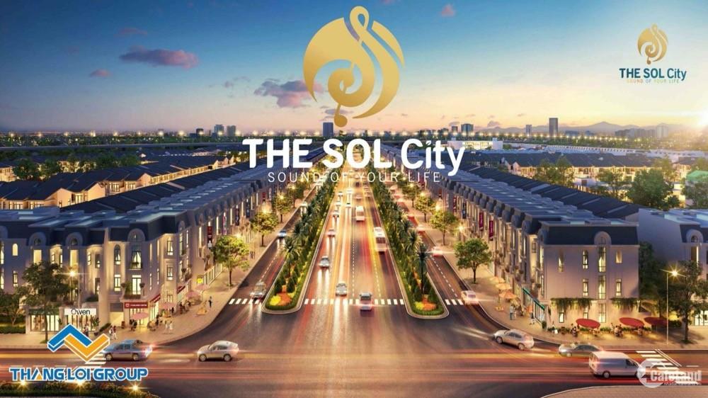 Mở bán shophouse dự án Sol City Thắng Lợi ngay trung tâm Cần Giuộc