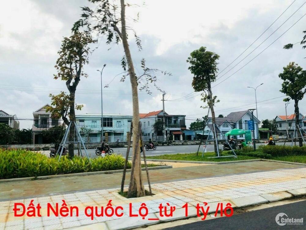 LÔ 100m2_Mặt Tiền QL1A_Tiện Kinh Doanh_1 tỷ