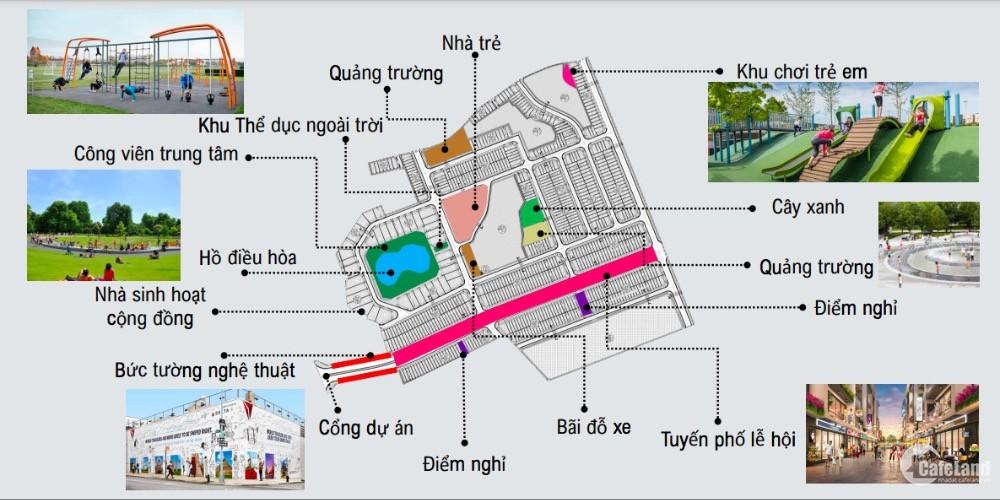 Lô đất nền ngoại giao giá rẻ nhất, duy nhất tại dự án Kosy City Beat Thái Nguyên