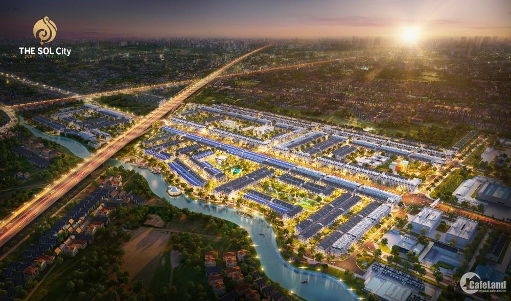 < Siêu Dự Án The Sol City Với Quy Mô 105ha,Ngay Chợ Hưng Long-Bình Chánh >
