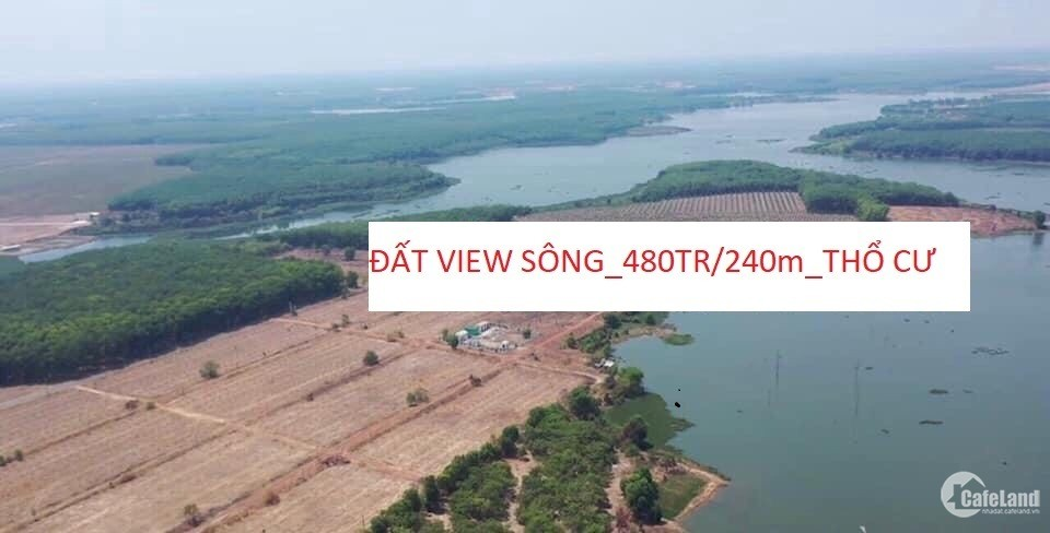 bán đất view sông xây biệt thự giá rẻ