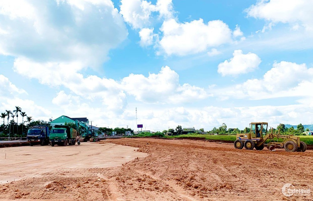 Đất nền phố núi Nam Pleiku, Gia Lai-Giá 1,6tr/m2
