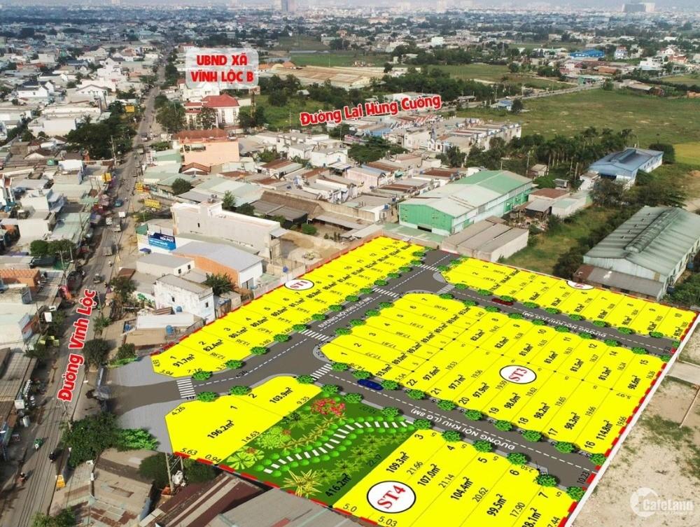 [HOT] Bán đất nền sổ đỏ mặt tiền đường Vĩnh Lộc, ĐÃ CÓ SỔ - CÔNG CHỨNG NGAY