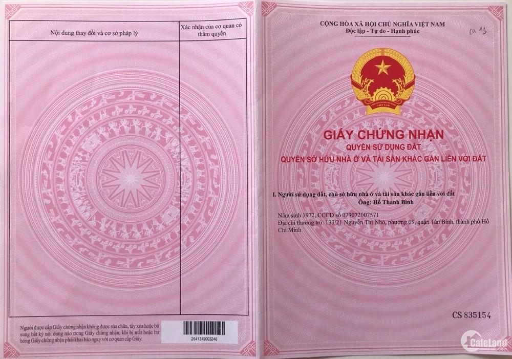 Bán đất 500m2 quy hoạch full thổ xã Long Phước giá 2 tỷ, SHR từng nền.