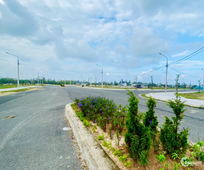 Đất biển Nam Đà Nẵng- hạ tầng đã có- 1.18 tỷ/lô