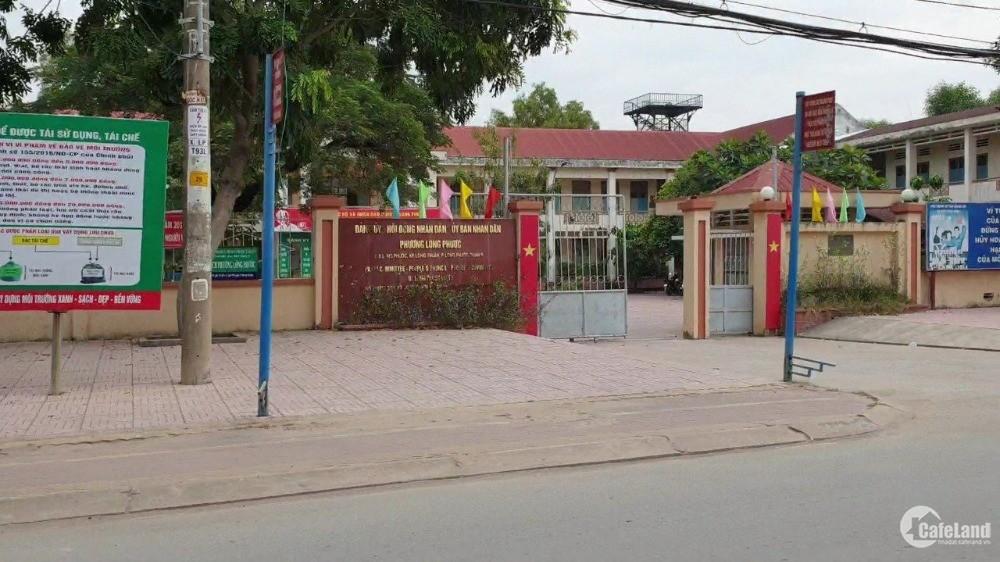 Tôi Chính Chủ Cần Bán Đất Thổ Cư 100% SHR Ngay Chợ Long Phước, Quận 9- TPHCM