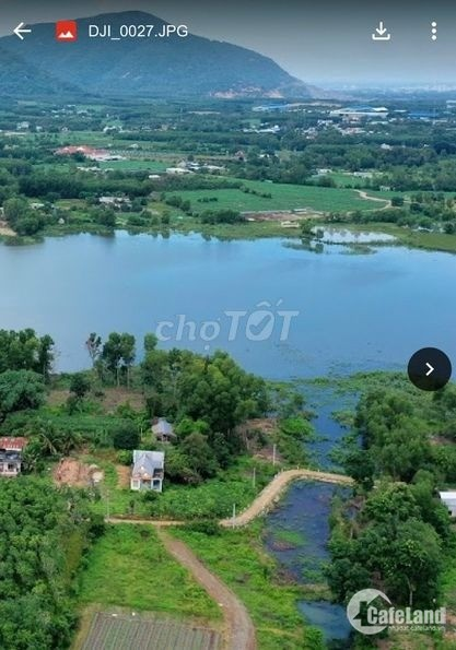 Đất TX Phú Mỹ, BRVT, 1 tỷ/633m2 - SHR, view Hồ Châu Pha