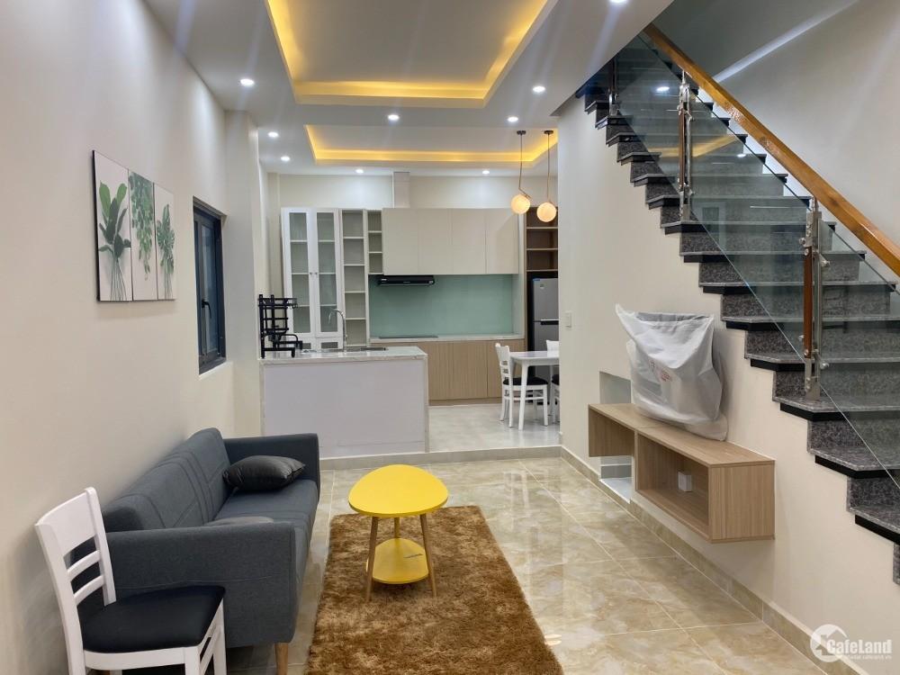 Cho thuê nhà mới nguyên căn 2PN, mặt tiền đường Vành Đai 4. Bến Cát, Bình Dương.