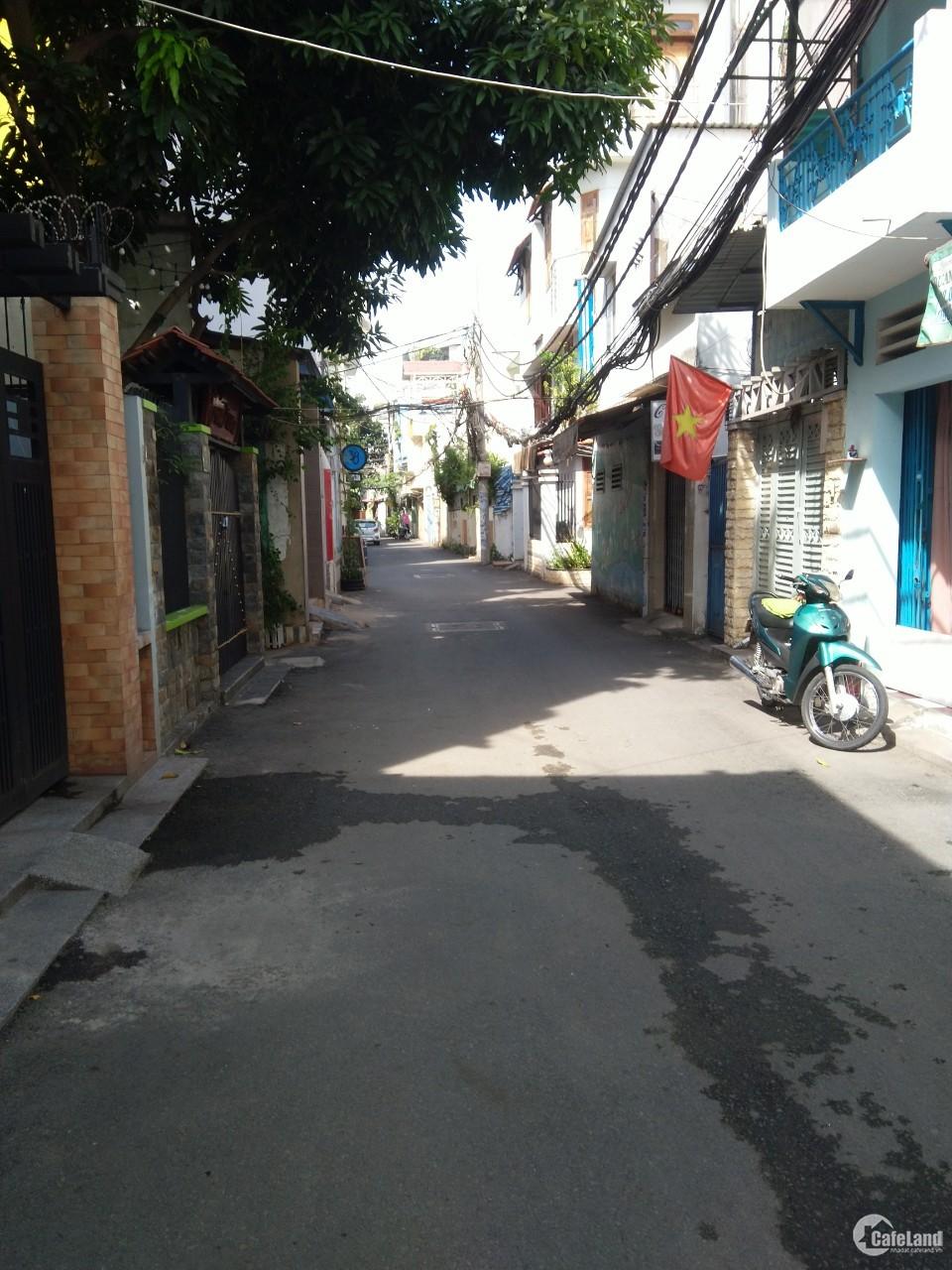 Nhà bán HXH 5m Lê Quang Định P11 Bình Thạnh, 4m x 20m, 4 tầng, 7,2 tỷ.
