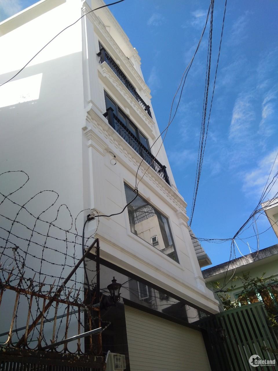 Bán nhà Nguyễn Văn Đậu, P7, Bình Thạnh, 65m2, 3 tầng, sổ hồng, 6,1 tỷ.