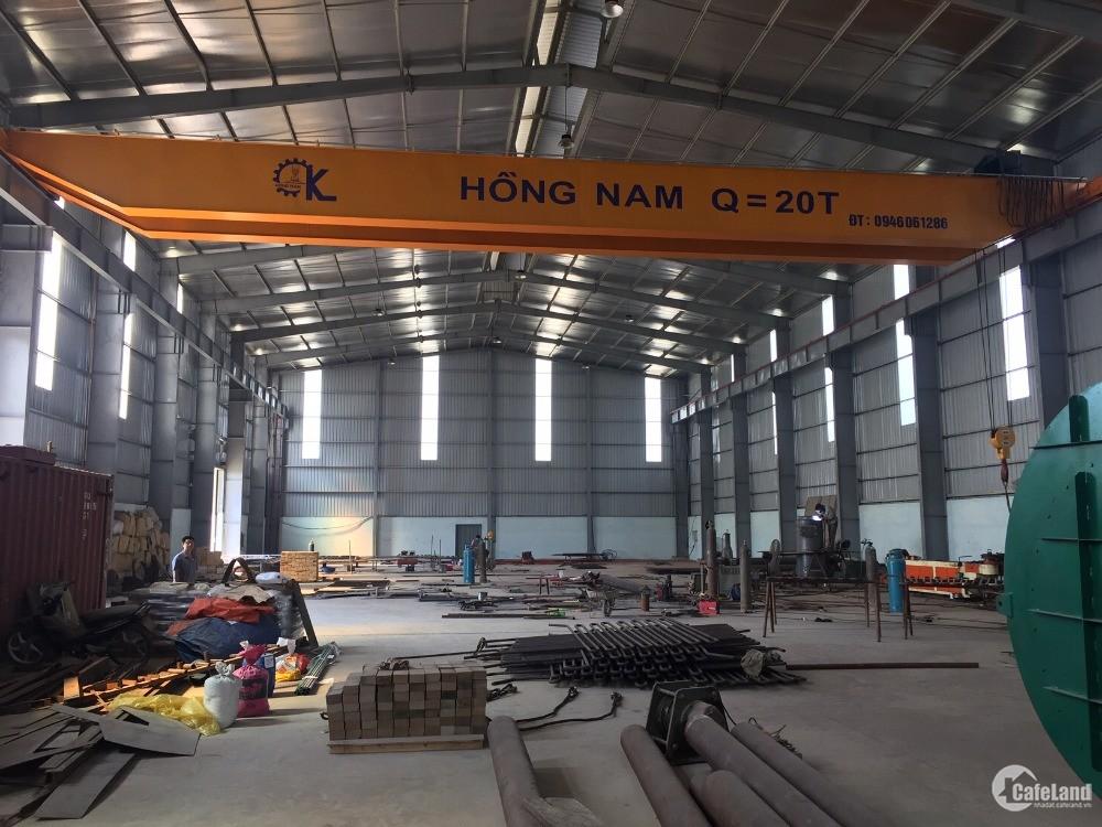 Cho thuê kho xưởng DT 2000m2 KCN Thạch Thất Quốc Oai, Hà Nội