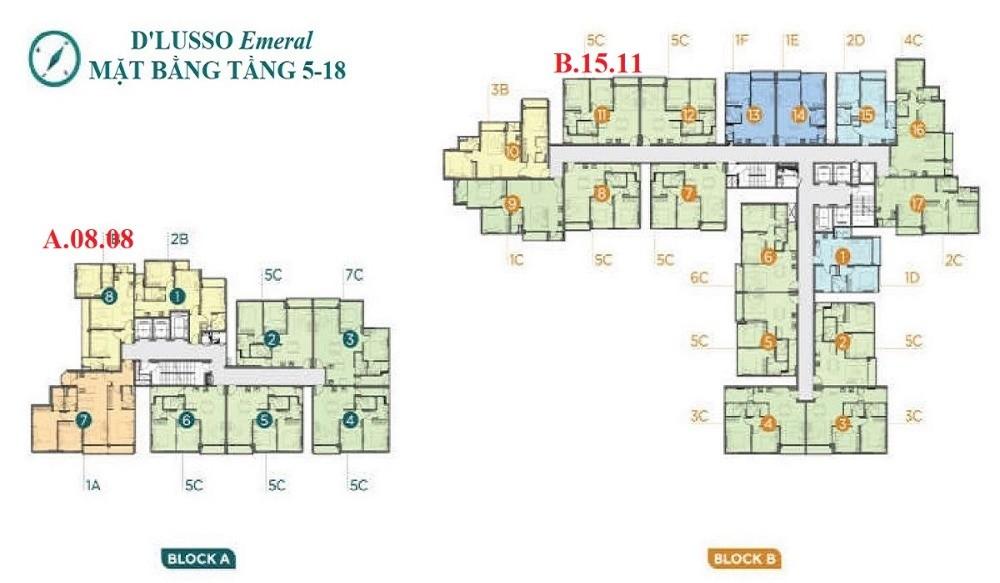 Bán 2 căn D'lusso quận 2 B.15.11 & A.8.8 2PN, view sông, tặng 3 máy lạnh, 3,91tỷ