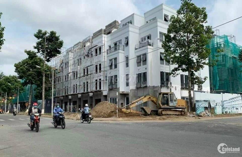 Bán shop house mặt tiền đường 25m, 5*22, 4 tầng.giá gốc 6.3 tỷ