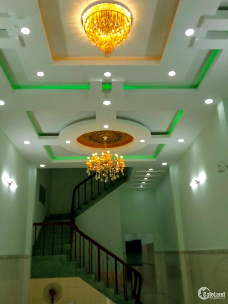 Nhà 4 lầu 4x29m - Mặt Tiền QL 22 - Giá chỉ 65 triệu/m2