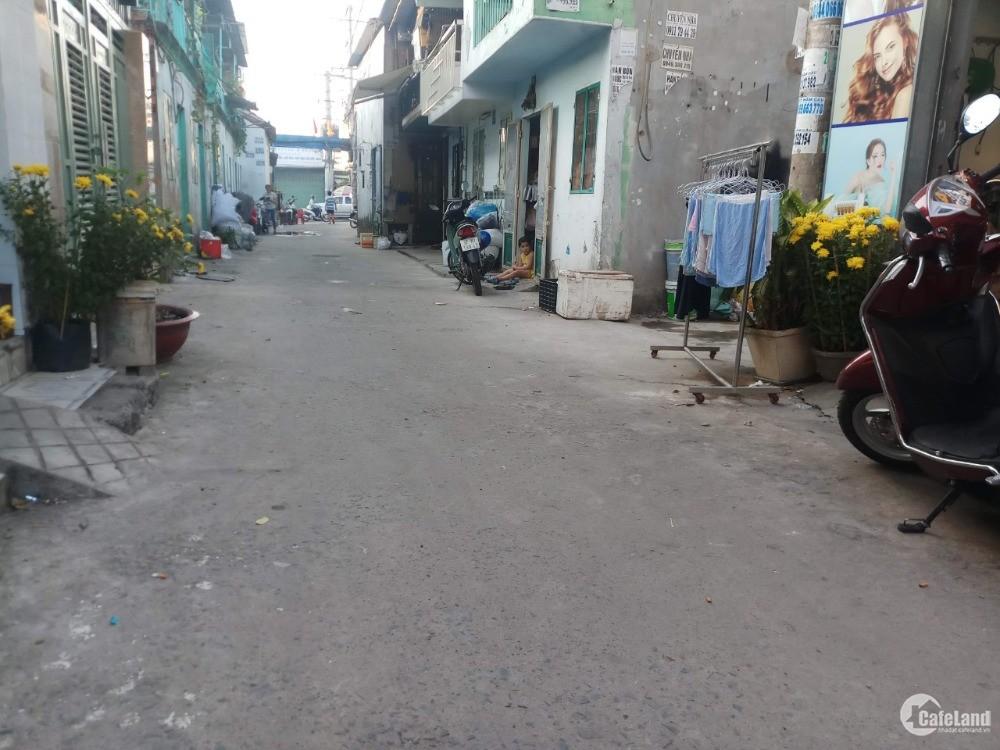 Bán nhà đường Bùi Văn Ngữ, P Tân Thới Hiệp, Q12, DT 32m2, 1 T, 1L, giá 685tr. LH