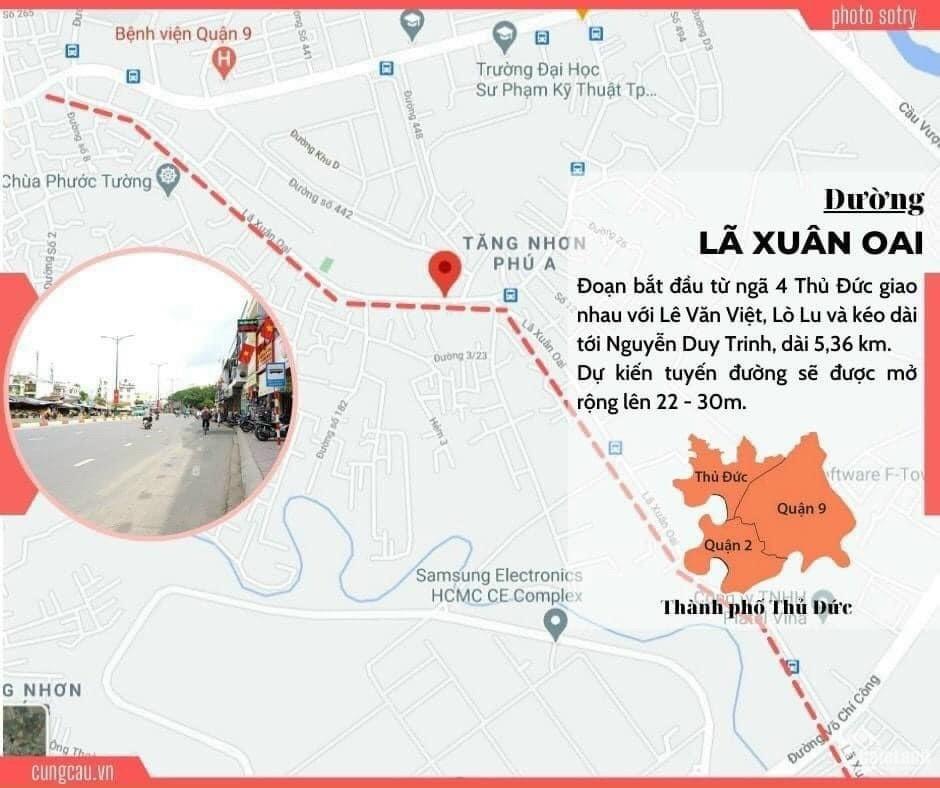 Bán gấp mặt tiền Nguyễn Duy Trinh P. Long Trường Q.9, 248m2 chỉ 19.9 tỉ