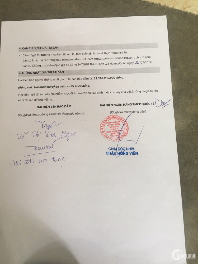 Ngân hàng định giá 22 tỉ chủ bán gấp 20 tỉ 291m2 mặt tiền Nguyễn Duy Trinh Q.9