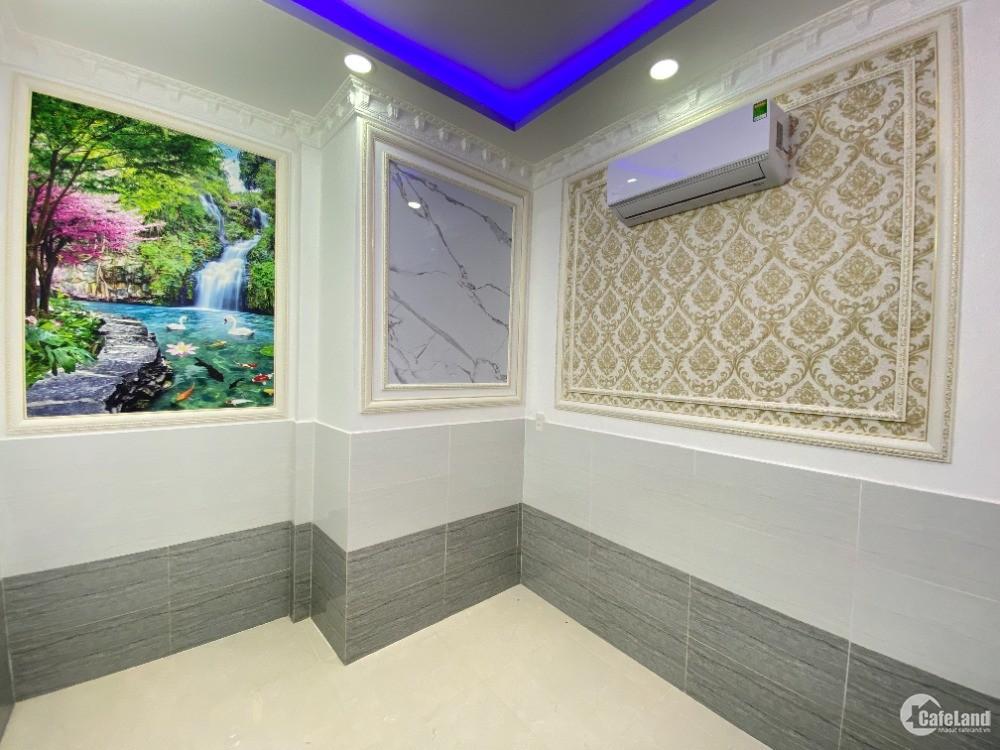 Bán nhà Nhà Bè SHR hẻm 2129 Huỳnh Tấn Phát thị trấn Nhà Bè 1 trệt 2 phòng ngủ 1