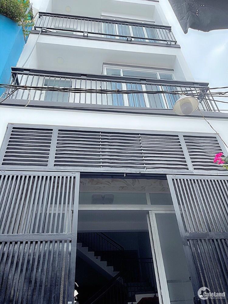 Nhà Bán 4.5*13.2m MT đường nội bộ P4Q8 - Ms Thùy BĐS Tâm Điền