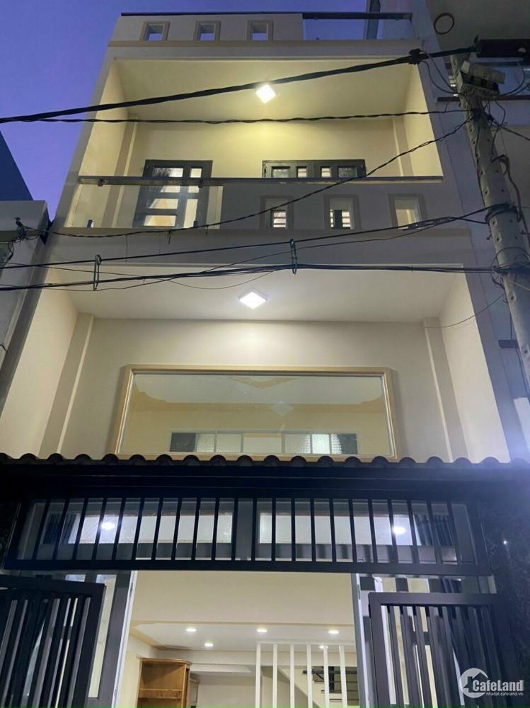 Nhà Hẻm 6m ô tô vào nhà 363/ đường Đất Mới, P. Bình Trị Đông A, Q. Bình Tân.