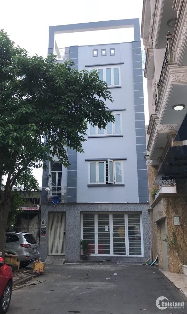 Bán gấp dãy nhà trọ hẻm 5m Nguyễn Đỗ Cung, 6.5x18.1m, lửng, 2 lầu, sân thượng, g