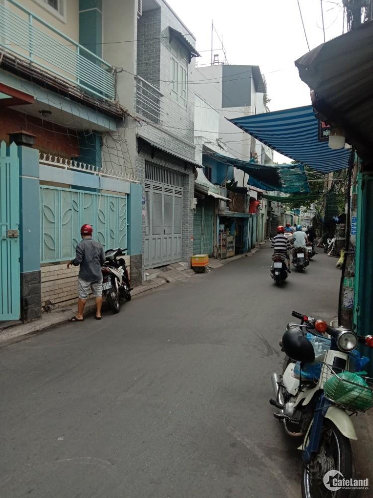 Bán nhà 8,5mx9m, 2 tầng , hẻm 6m Tô Hiệu, Tân Phú, 6,7 tỷ (TL)