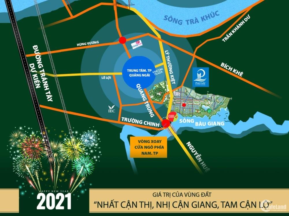 Mở bán Phân Khu Phú Quý Khu đô thị mới Phú Mỹ Quảng Ngãi