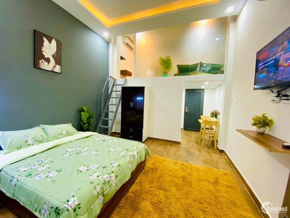 Căn hộ có gác đầy đủ nội thất, tiện nghi gần Landmark 81 Bình Thạnh