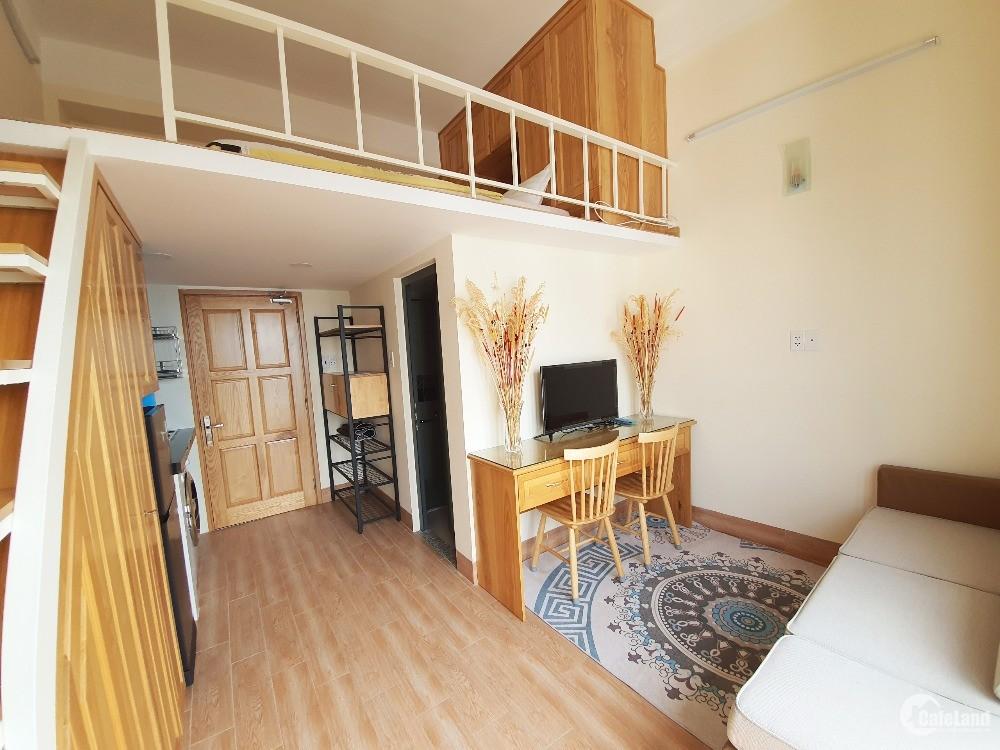 Căn hộ đầy đủ nội thất, tiện nghi đường Cách Mạng Tháng Tám quận 10 8.5tr/tháng