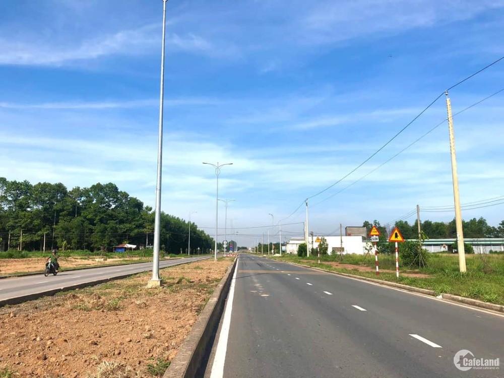 Đất mặt tiền đường 47m cổng kcn Giang Điền- tp Biên Hòa giá rẻ