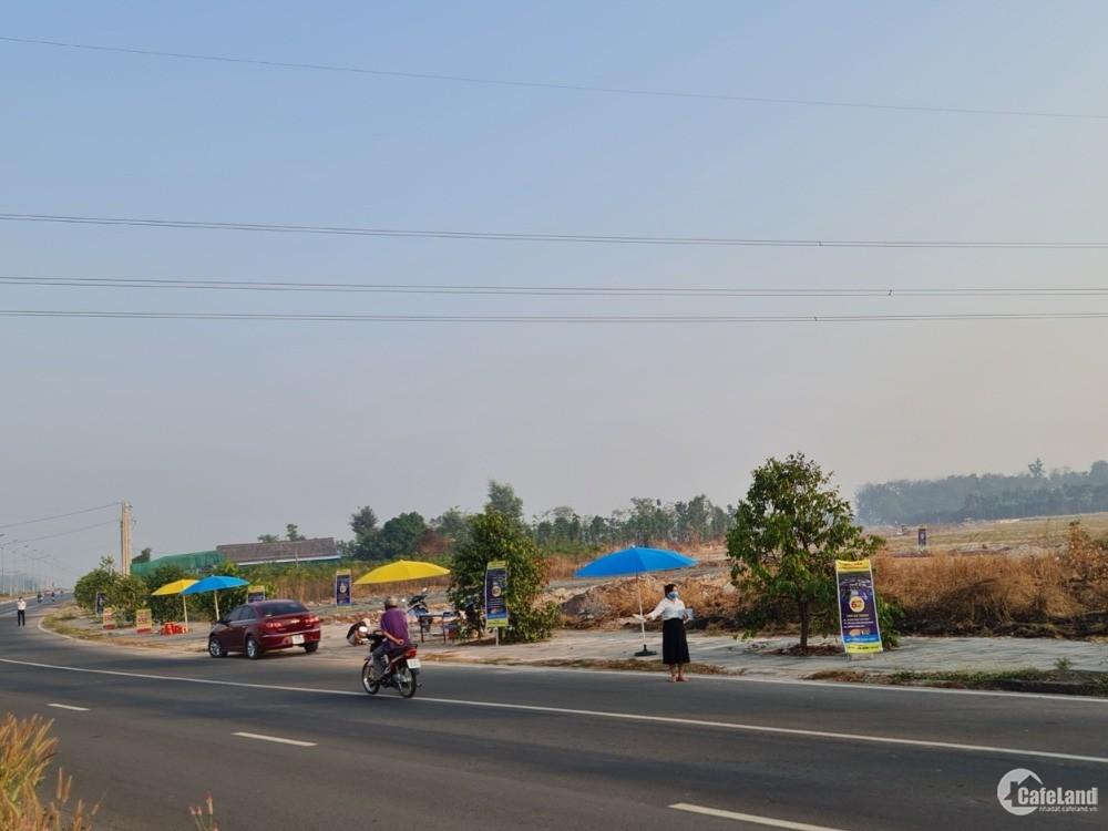 Đất trung tâm hành chính Thị xã Chơn Thành - đô thị công nghiệp Becamex 2.5tr/m2