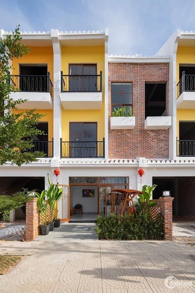 Nam hội an city- nhà phố đẳng cấp bên sông Thu bồn chỉ 3 ty3 sở hữu nhà 3 tầng