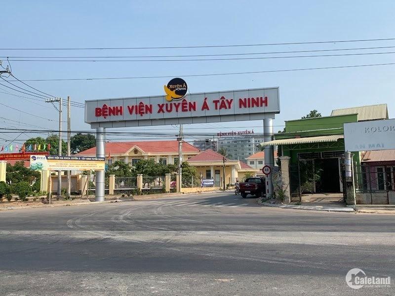 Đất giá rẻ cuối năm ngay BV Xuyên Á Tây Ninh cách QL22 chỉ 500m
