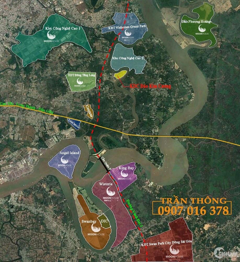 Bán đất quận 9 Biệt thự dự án Đảo Kim Cương 262,5m2 chỉ 6 tỷ 5xx.