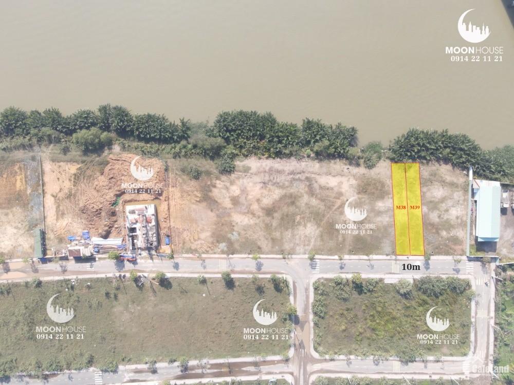 Bán Gấp Lô Đất Quận 9 Biệt Thự Ven Sông Đảo Đảo Kim Cương, Giá 13.5 Tỷ 2 Lô
