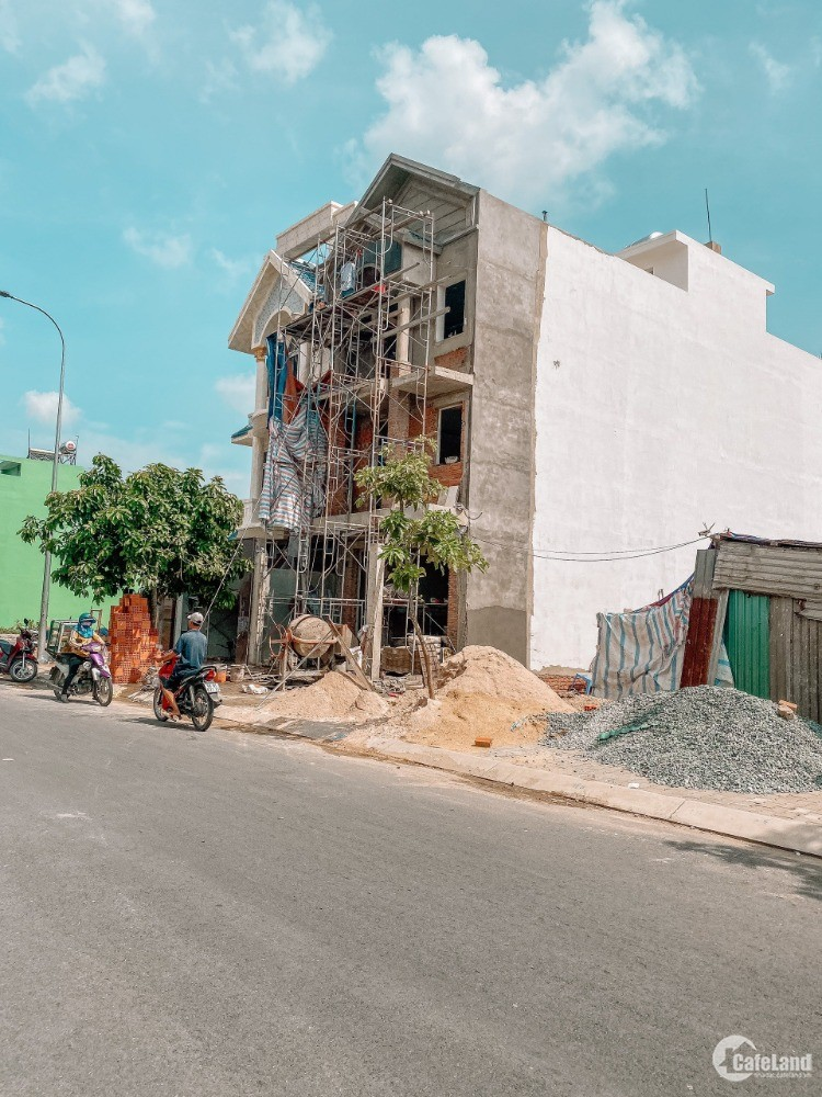 Đất quận Bình Tân, thổ cư, sổ hồng riêng, mặt tiền đường 16m, tiện Kinh Doanh