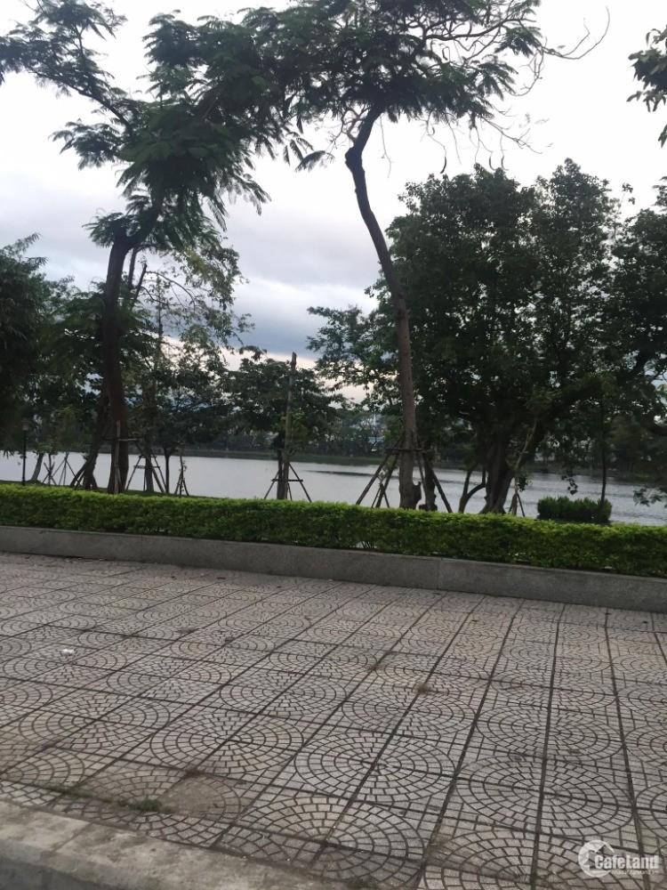 Bán đất MT Nguyễn Tri Phương, Tp Đà Nẵng 492m2 ( ngang 14 X 27m) Vị trí View Hồ.