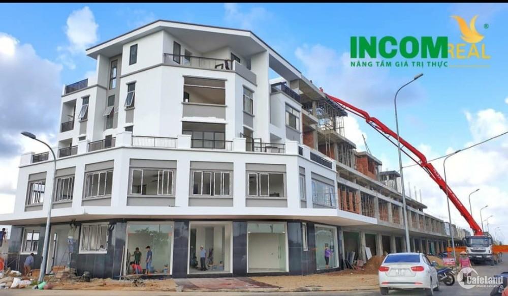 Shophouse 5 tầng mặt tiền đường 50m lớn, KĐT Phú Mỹ Quảng Ngãi
