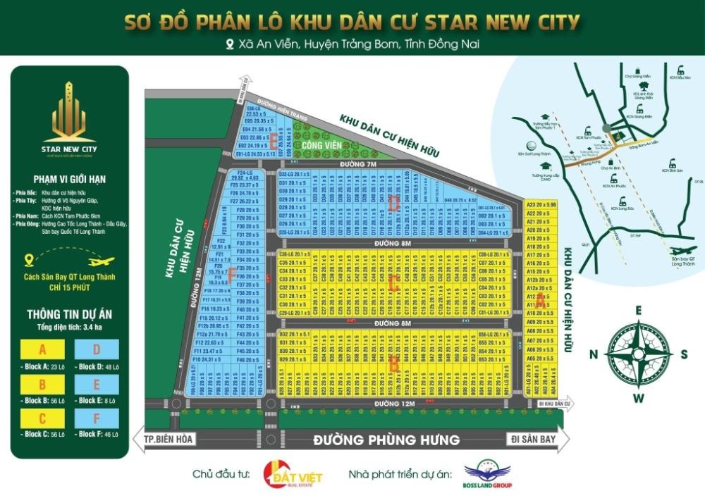 Đất nền dự án phục vụ sân bay Long Thành