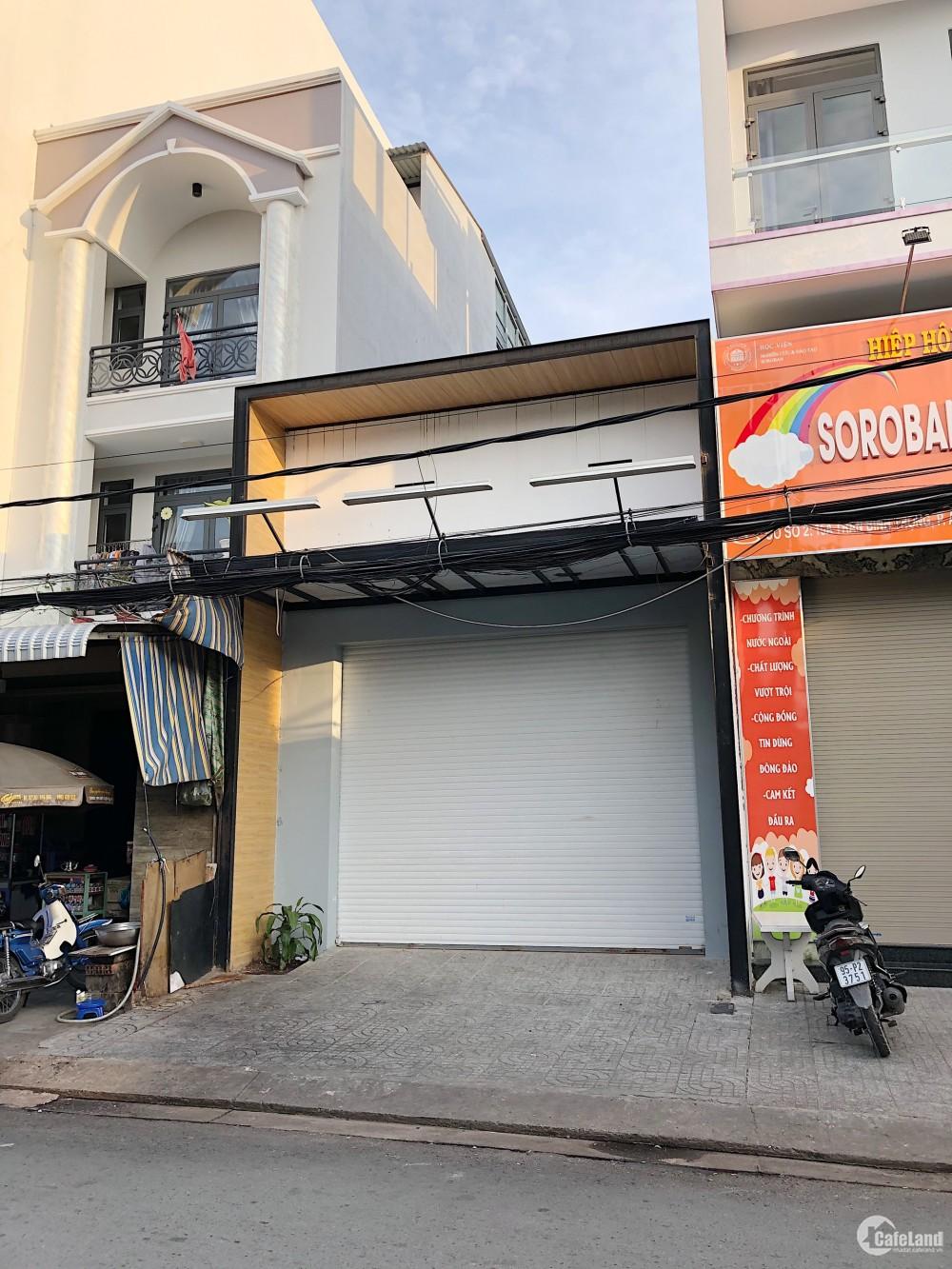 Cho thuê nhà mặt tiền Trần Bình Trọng 5x22, An Phú, Ninh Kiều, Cần Thơ. Thích