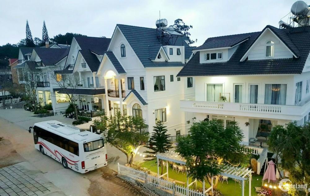 Bán biệt thự sân vườn 417 m2, 10 PN cạnh Thung Lũng Tình Yêu, TP. Đà Lạt giá