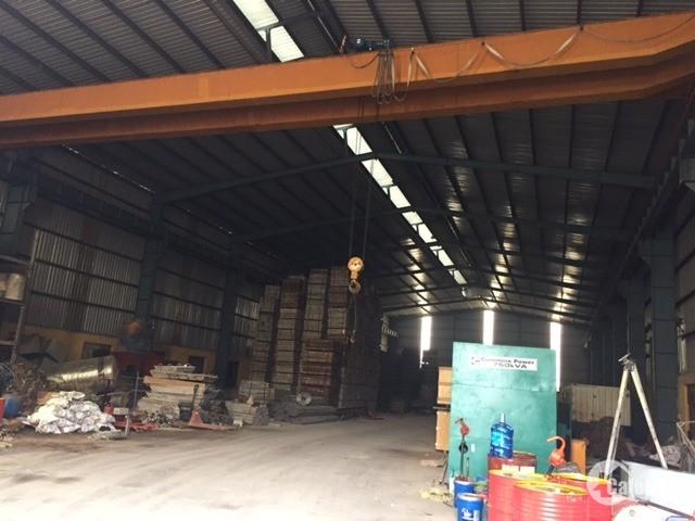 Cho thuê nhà xưởng DT 850m2 Cụm CN Di Trạch,,Hoài Đức, Hà Nội