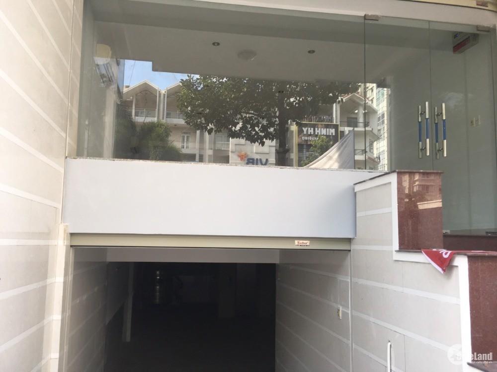 Cho thuê nhà đường D1 Khu Him Lam,Q7: 5x20m, hầm,4 lầu, KD văn phòng,SPA.. 50 tr