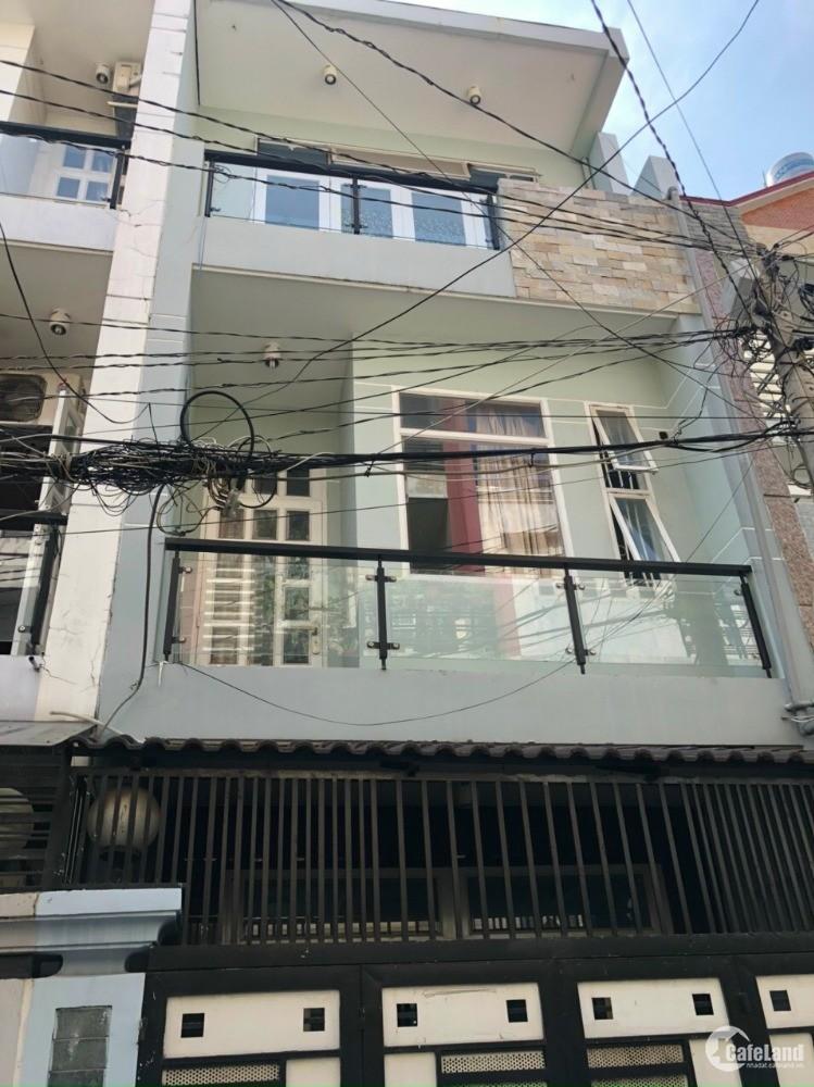 Cho thuê nhà 1 trệt 2 lầu 4PN đẹp hẻm 6m gần Công Viên Gia Phú