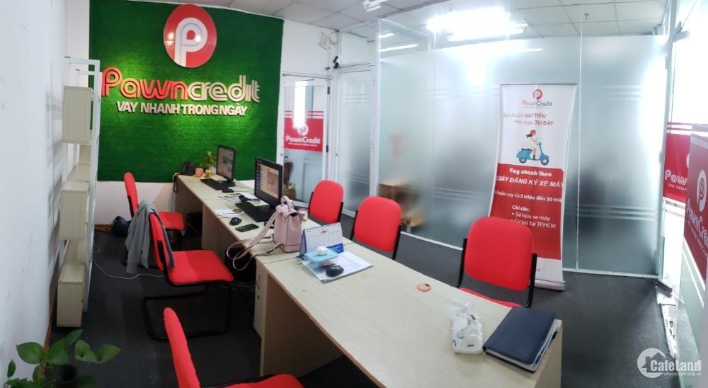 Cho thuê văn phòng trống ở Hồ Bá Kiện.