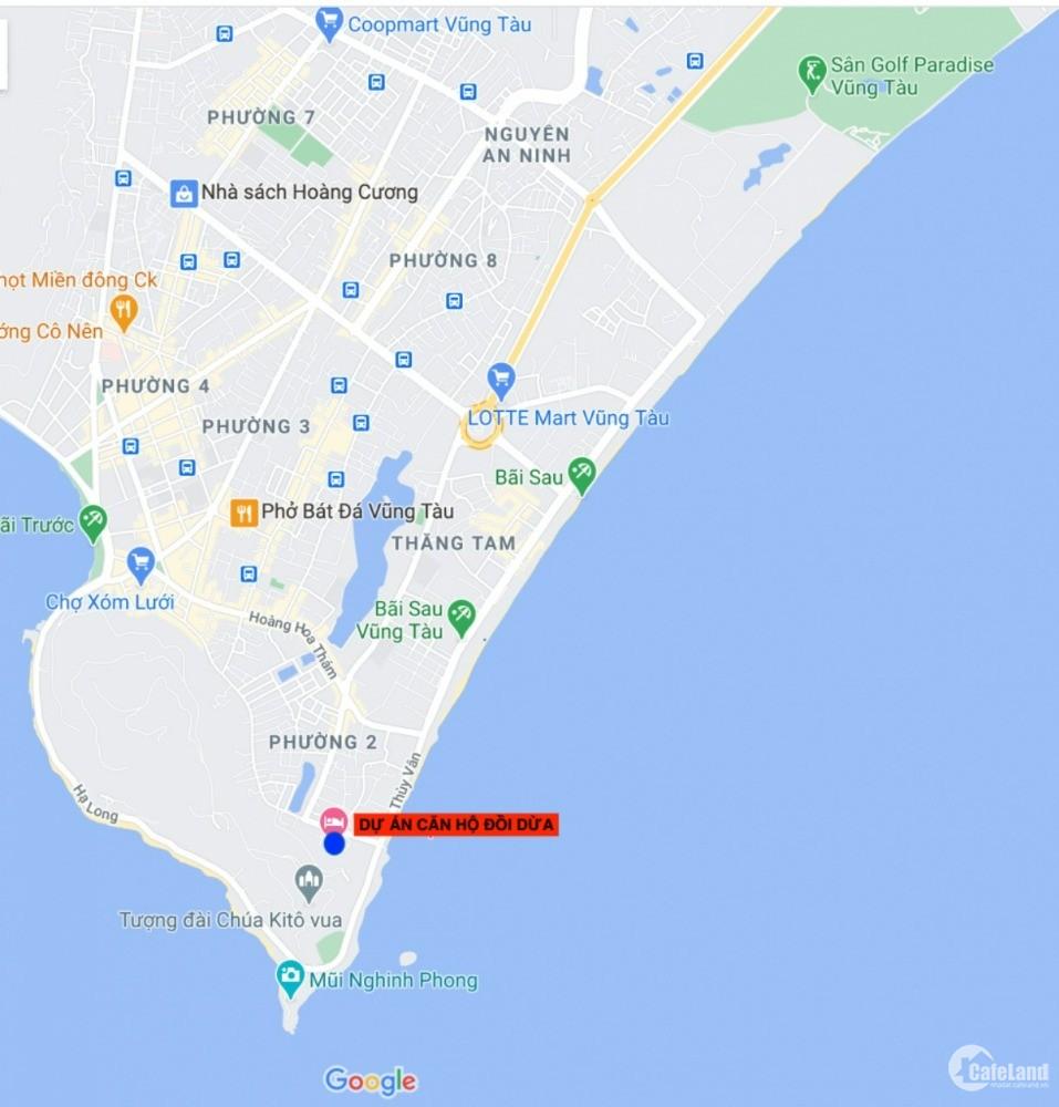 Chỉ hơn 800 căn view biển duy nhất tại Vũng Tàu